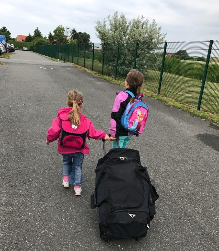 Urlaub auf Juist mit Kindern - auf dem Weg zum Hafen von Norddeich