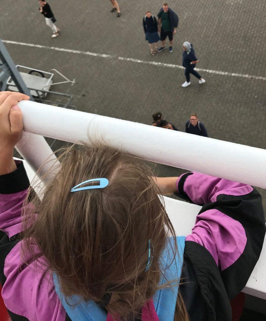 Urlaub auf Juist mit Kindern - Ankunft am Hafen von Juist