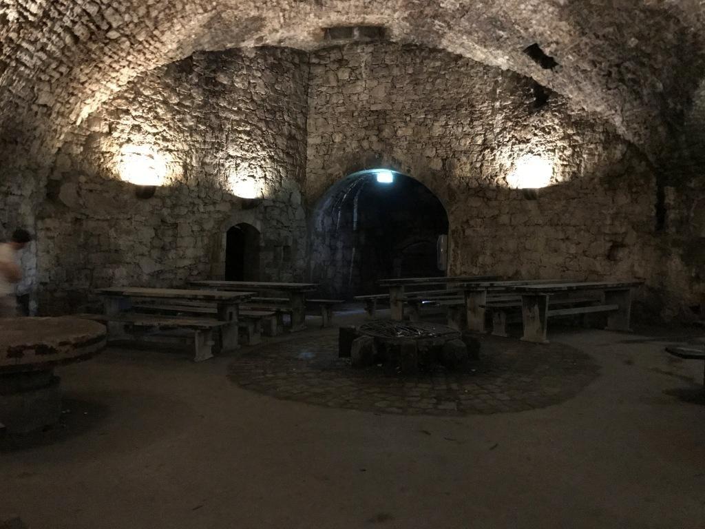 Ein Raum in den Kasematten
