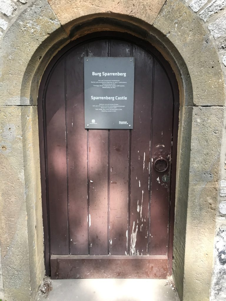 Die Tür in die Kasematten