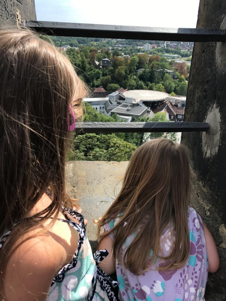 Ausblick vom Turm der Sparrenburg Bielefeld