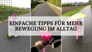 Einfache Tipps für mehr Bewegung im Alltag - Titelbild