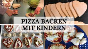 Pizza backen mit Kindern - Titelbild