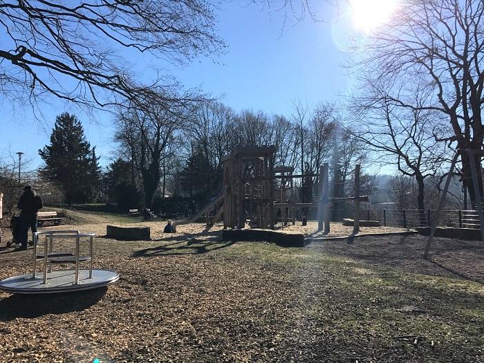 Spielplatz an der Promenade der Sparrenburg Bielefeld
