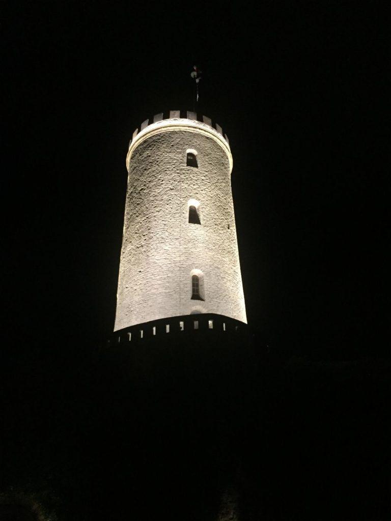 Sparrenburg bei Nacht