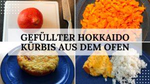 Rezept Hokkaido Kürbis gefüllt aus dem Ofen - Titelbild