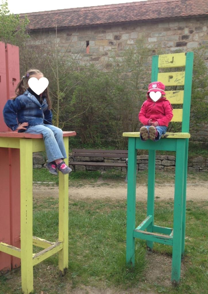 Franken mit Kindern: Urlaub auf dem Ferienhof Frankenhöhe in Markt Erlbach; Neustadt an der Aisch