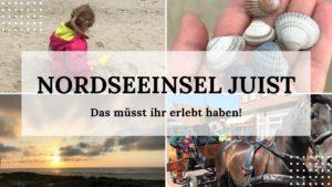 Nordseeinsel Juist- Reisen mit Kindern - Titelbild