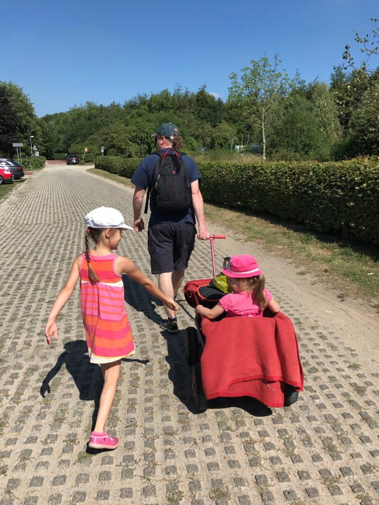 Zoo Osnabrück mit Kindern - Parkplatz