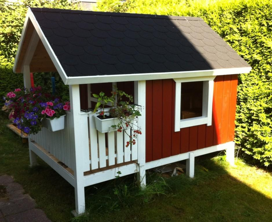 DIY-Projekt: Garten-Spielhaus für Kinder – Bauabschnitt 7