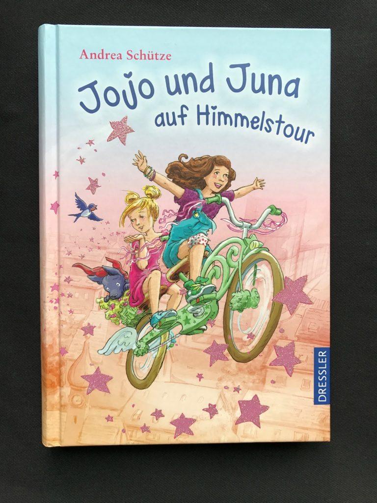 Buchtipp: Jojo und Juna auf Himmelstour von Andrea Schütze