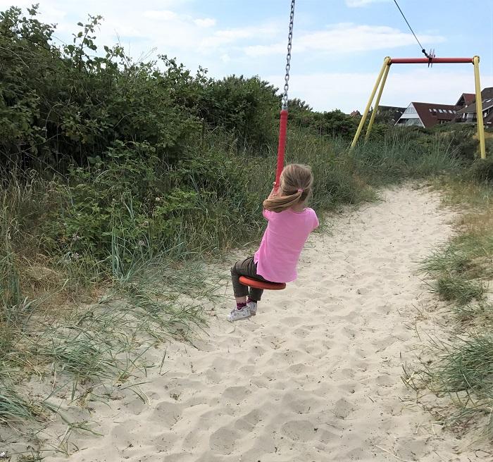 Urlaub auf Juist mit Kindern - Spielplatz am Hafen