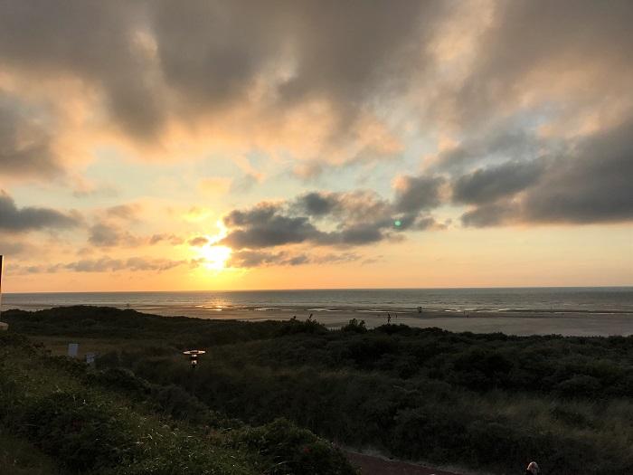 Urlaub auf Juist mit Kindern - Sonnenuntergang