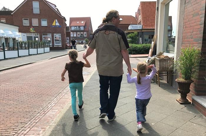 Urlaub auf Juist mit Kindern - Stadtbummel