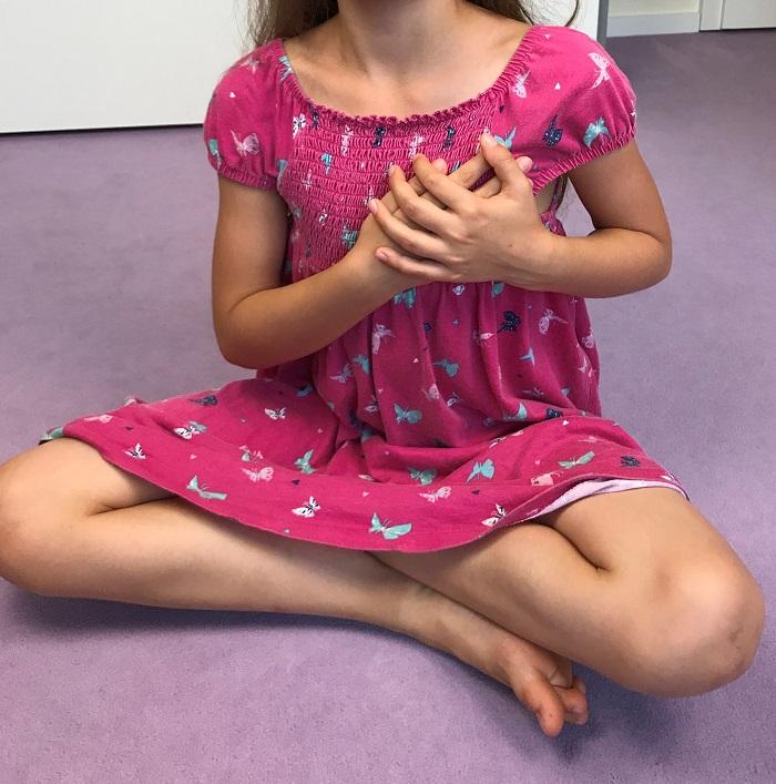 Meditation mit Kindern - BuddhaBoo App - Herzmeditation
