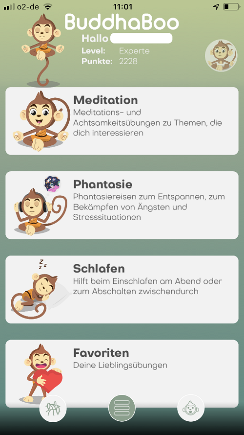 Meditation mit Kindern - BuddhaBoo App ohne Serie
