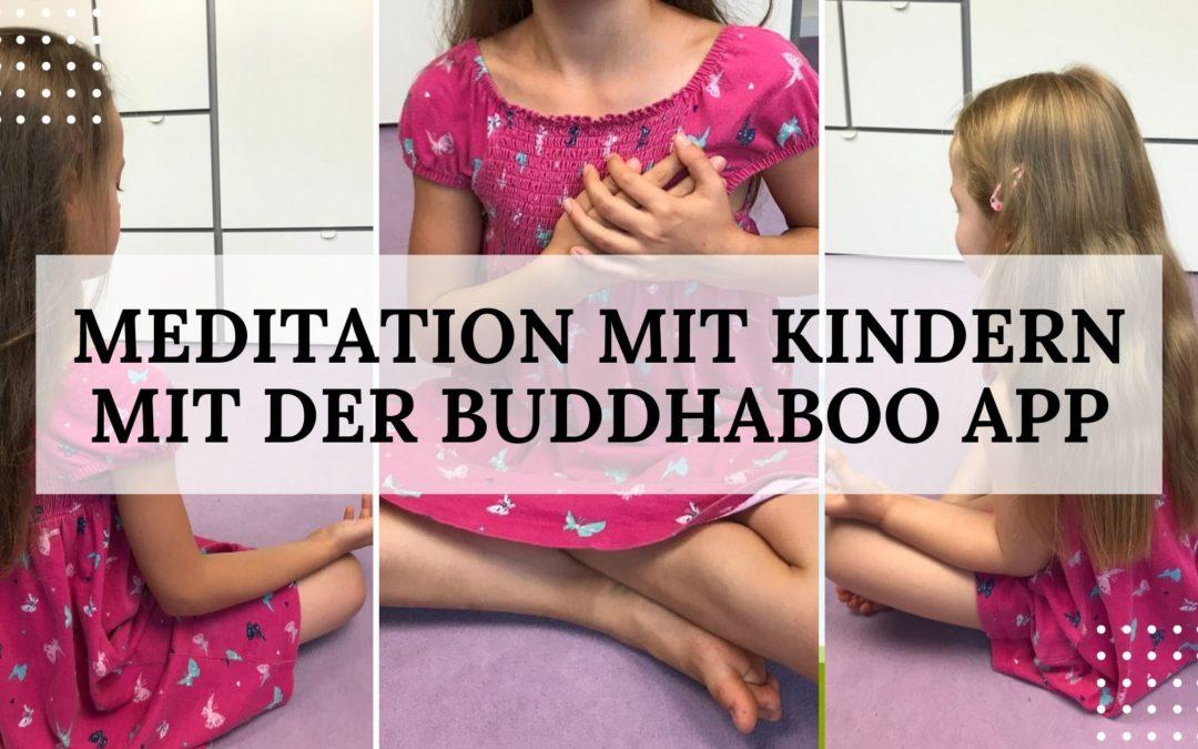 Meditation mit Kindern mit der BuddhaBoo App – Erfahrungsbericht