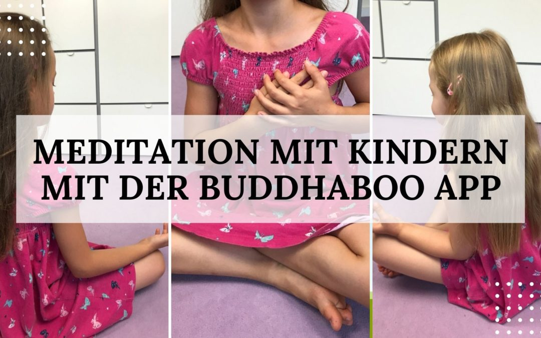 Meditation mit Kindern - BuddhaBoo App - Titelbild