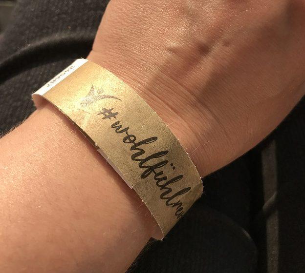 Wohlfühlrevolution Festival Armband