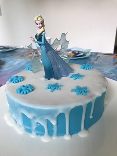 Elsa Geburtstagskuchen