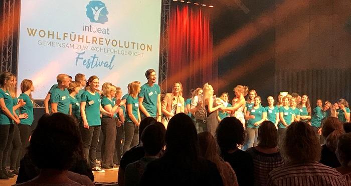 Wohlfühlrevolution Festival, Finale mit dem ganzen Team