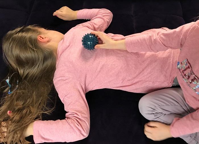 Abendroutine mit Kindern - Massage