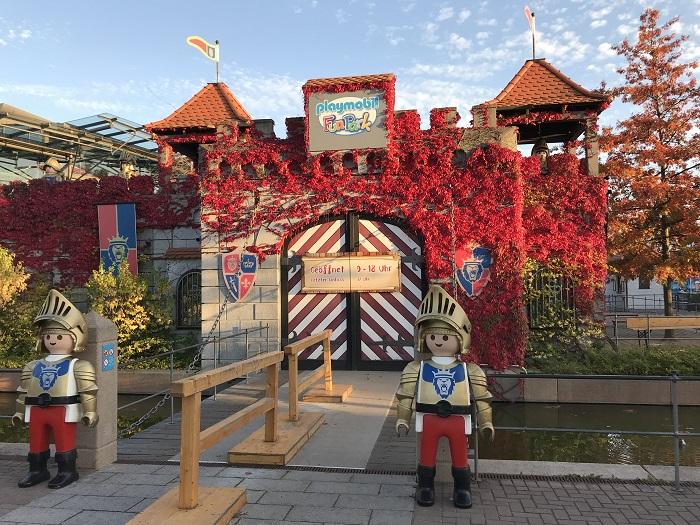 Ausflugstipp mit Kindern: Playmobil FunPark, Eingang