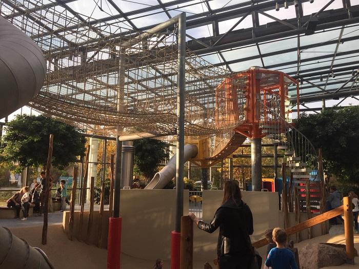 Ausflugstipp mit Kindern: Playmobil FunPark, Klettergarten