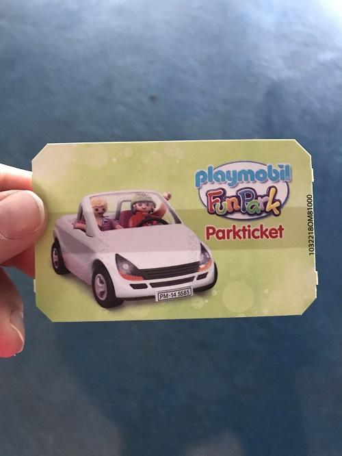 Ausflugstipp mit Kindern: Playmobil FunPark, Parkticket