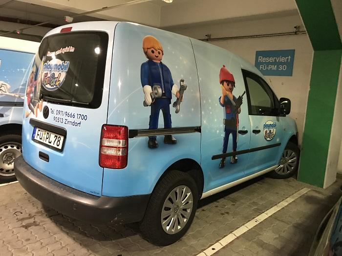 Ausflugstipp mit Kindern: Playmobil FunPark, Playmobil Fahrzeug
