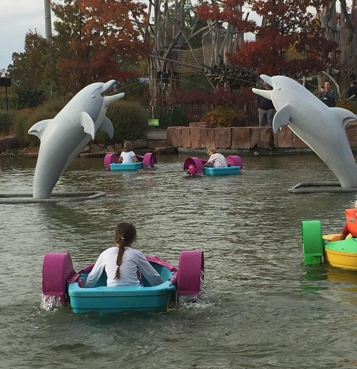 Ausflugstipp mit Kindern: Playmobil FunPark, Power Paddelboote