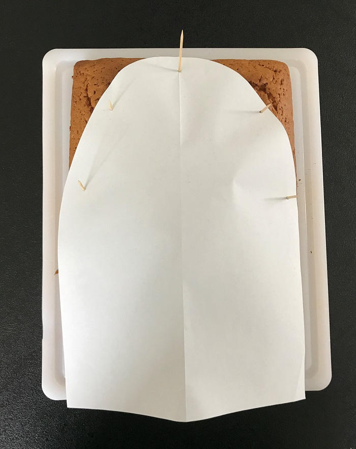 Rezept Raketen-Kuchen zum Kindergeburtstag Kuchen mit Schablone
