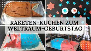Rezept Raketenkuchen zum Kindergeburtstag Kuchen - Titelbild
