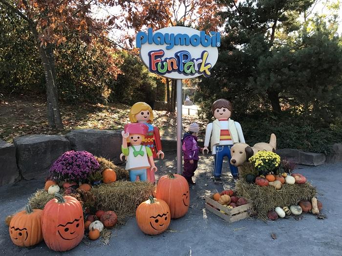 Ausflugstipp mit Kindern: Playmobil FunPark, Schild