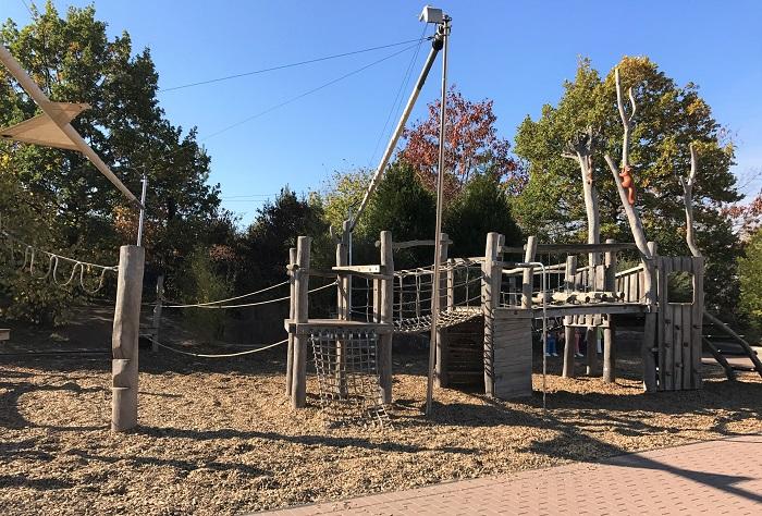 Ausflugstipp mit Kindern: Playmobil FunPark, Balancier-Parcours