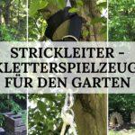 Strickleiter Kletterspielzeug für den Garten - Titelbild