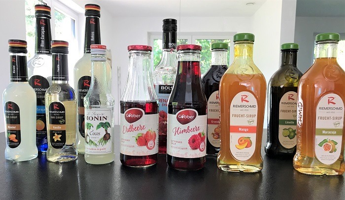 Leckeres Rezept: alkoholfreie Cocktails - Sirupe