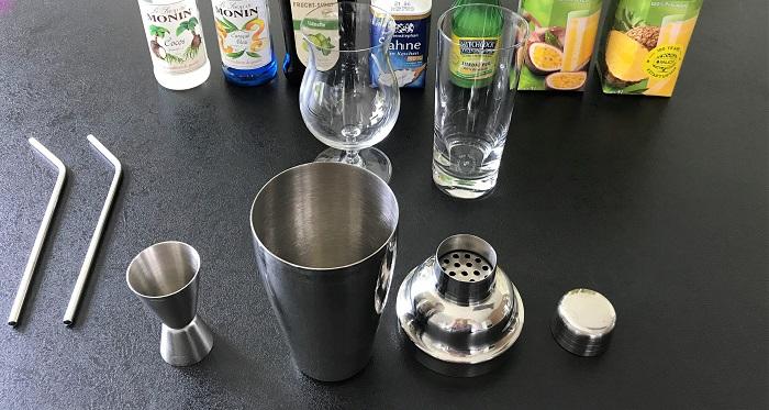 Leckeres Rezept: alkoholfreie Cocktails - Zubehör