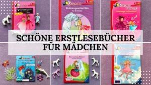 7 schöne Erstlesebücher für Mädchen von Leserabe - Titelbild