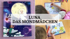 Zauberhafter Buch-Tipp: Luna das Mondmädchen von Fabian Wollschläger - Titelbild