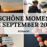 30am30 - 30 schöne Momente im September 2020 - Titelbild