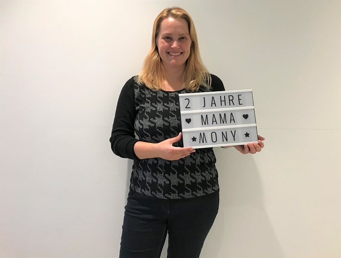 30am30 - 30 schöne Momente im September 2020 - Mama Mony Schild