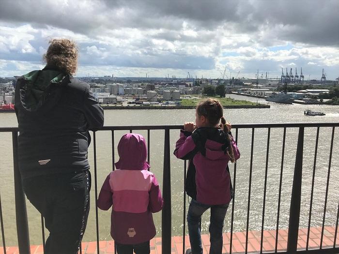Urlaub in Friedrichskoog - Tagesausflug nach Hamburg - Ausblick von der Elbphilharmonie