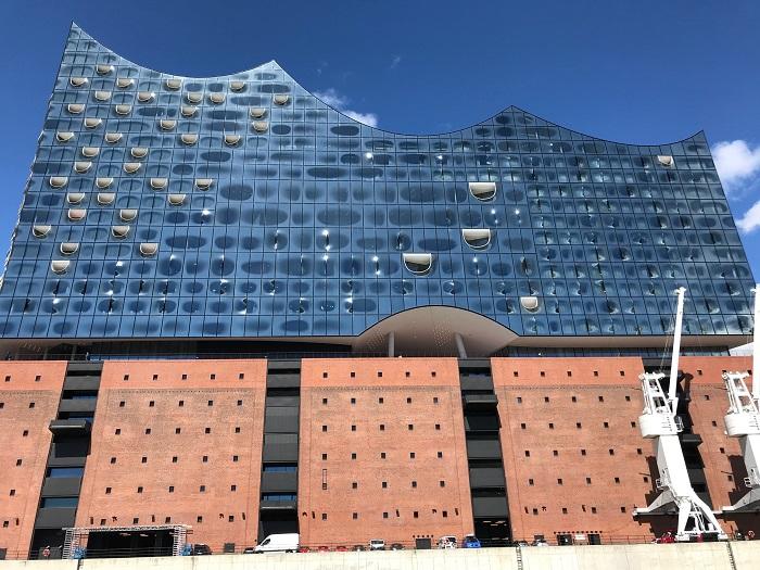 Urlaub in Friedrichskoog - Tagesausflug nach Hamburg - die Elbphilharmonie