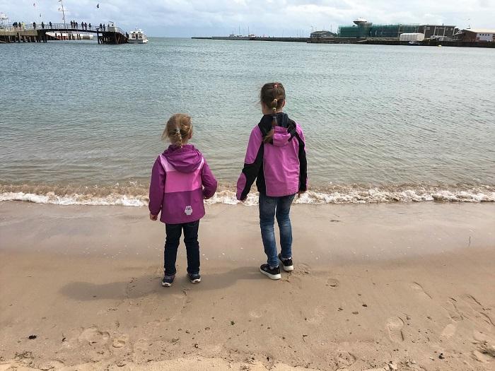 Urlaub in Friedrichskoog - Tagesausflug nach Helgoland - am Strand