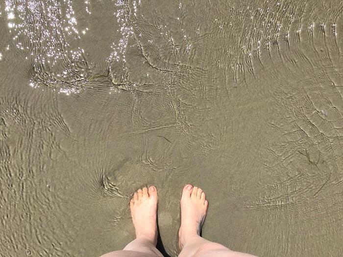 Urlaub in Friedrichskoog - Strandtag in St. Peter Ording