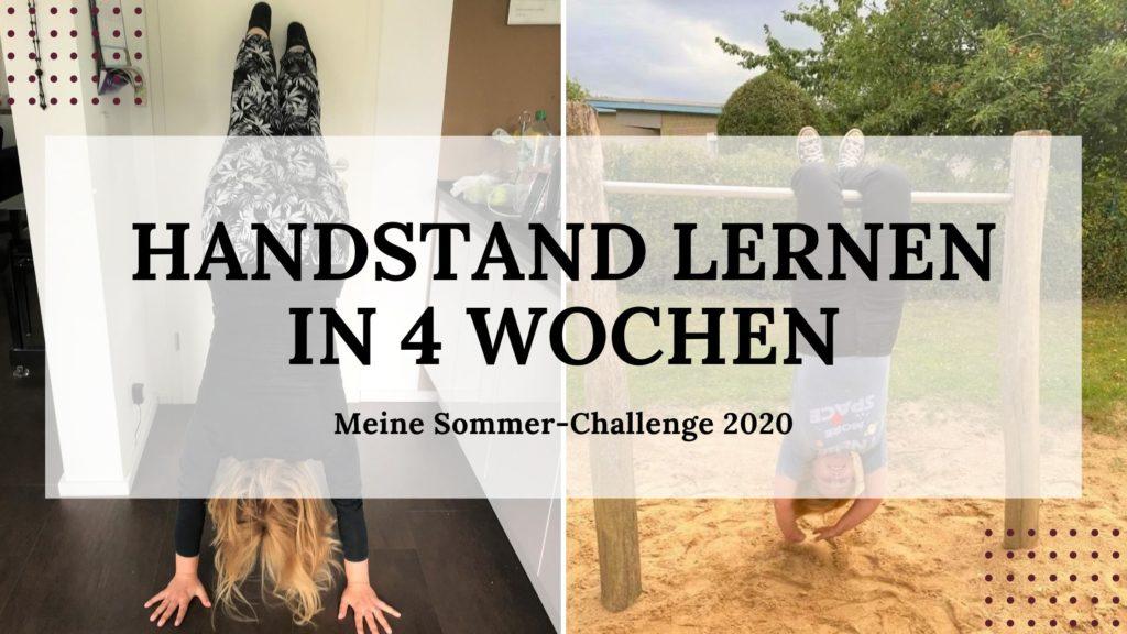 Handstand lernen in 4 Wochen - Titelbild 02