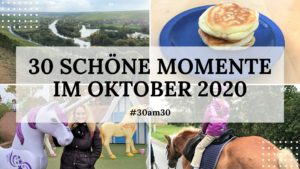 30am30 - 30 schöne Momente im Oktober 2020 - Titelbild