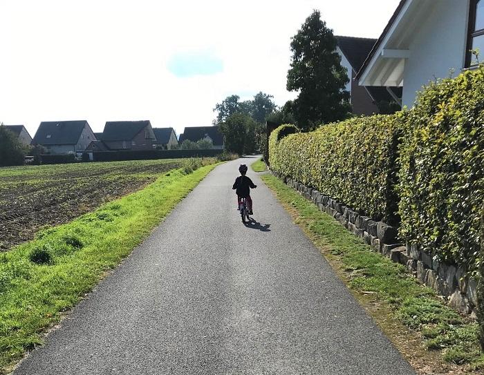 30am30 - 30 schöne Momente im Oktober 2020 - Fahrradtour mit meiner Tochter