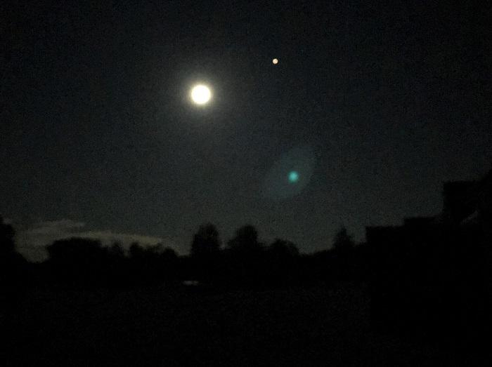 30am30 - 30 schöne Momente im Oktober 2020 - Mond und Mars